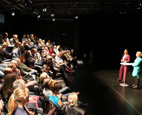 TeaterAlliansen Kulturminister Alice Bah Khunke