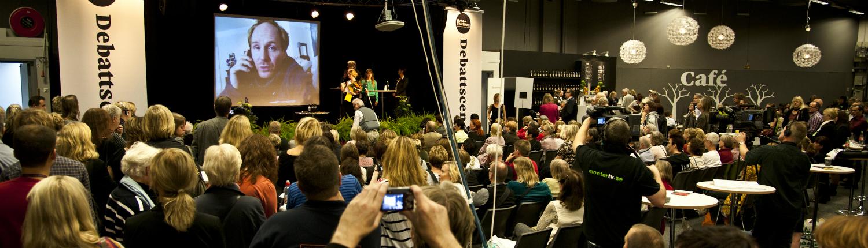 Stora Ljudbokspriset Morgan Alling foto: Erik Abel